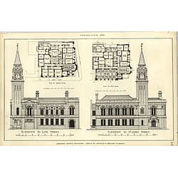 1888, Renfrew County Buildings, Plans Elevations