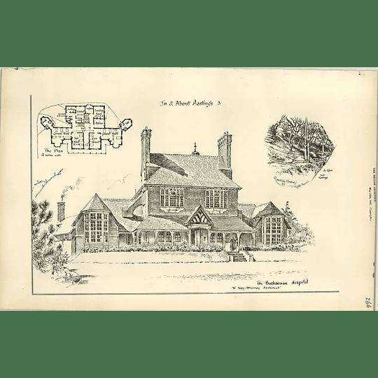 1887, The Buchanan Hospital, Hastings Hay Murray Architect