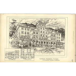 1891, Glenburn Hydropathic, Rothesay Crawford Dumbarton