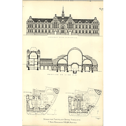 1890, Design For Montpelier Bath's Harrogate Fred Pennington