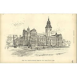 1895, West Ham Technical Schools Designed Roger Smith