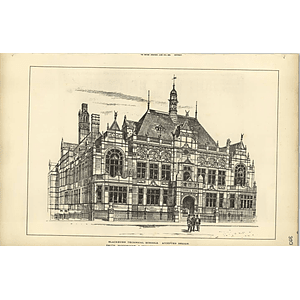 1888, Blackburn Technical Schools Accepted Design Smith Woodhouse
