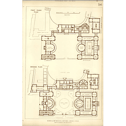 1891, Science And Art Museum, National Library Dublin Floor Plans