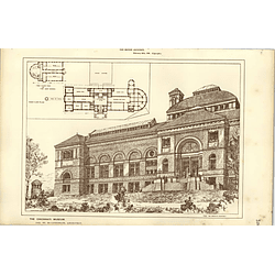 1886, Cincinnati Museum, James W Mclaughlin Architect