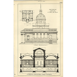 1889, Soane Medallion Design For Police Courts Robert Schultz
