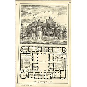 1889, Soane Medallion Design For Police Courts Arthur Sykes