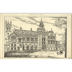 1890, Design For Public Day School, F Mawson Rattenbury