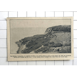 1936 Hastings Corporation To Save Open Spaces, Fairlight Glen, Lovers Seat