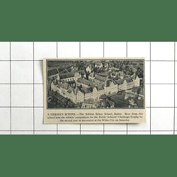 1936 The Schloss Salem School Baden, Wins Public Schools Challenge Trophy