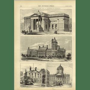 1874 Royal Visit Liverpool Seamens Orphanage Newsham Park Walker Art Gallery