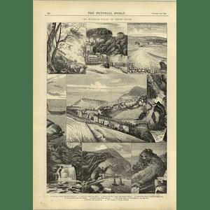 1874 North Devon Clovelly Ilfracombe Smallmouth Watersmeet Lynton Lynemouth