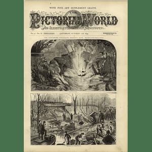 1874 Gunpowder Explosion Regents Park Ruins North Bridge