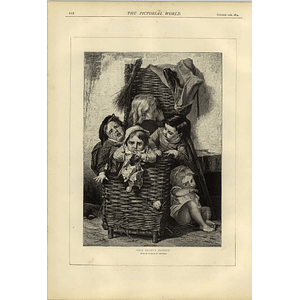1874 Old Bogeys Basket From Picture By Lobrichon Mysterious Electric Man