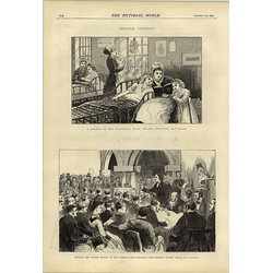 1874 Hospital Saturday Children's Ward Workingmen's College Great Ormond Street