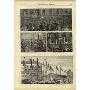 1874 Northampton Election Riots Storming Mercury Office Calling Out Specials