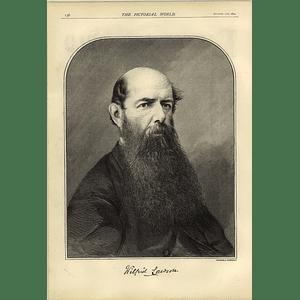 1874 Wilfred Lawson Portrait