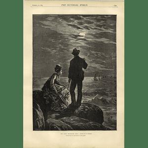 1874 Co Murray Artwork By The Moonlit Sea The Maffia Dangerous Classes