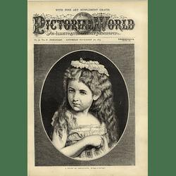 1874 Study Of Child Life Mora New York