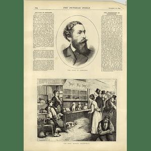 1874 Dogs Market In Leadenhall The Duke Of Abercorn