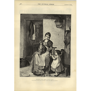 1874 Mothers And Of The Little Ones Picture Haynes King
