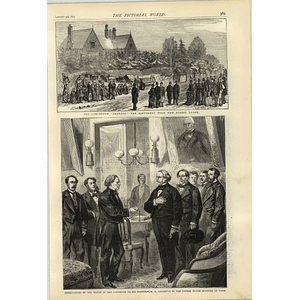 1874 Lymington Shakers Ejected From New Forest Lodge General Lafayette Presentation