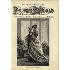 1874 The New Rose Dw Wynfield Artwork
