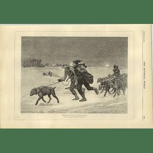 1874 French Tobacco Smugglers Pierre Billet Artwork