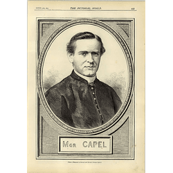 1874 The Right Rev Msgr Capel