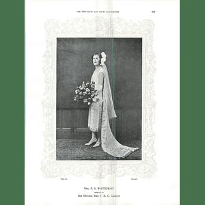 1925 Mrs P S Whitehead & The Lady Margaret  Douglas-Hamilton