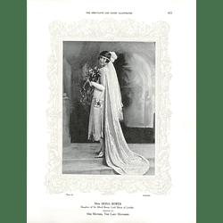 1925 Miss Mona Bower & Miss Gwendoline Swinburne