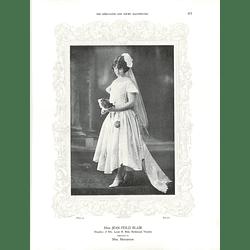 1925 Miss Jean Feild Blair & Mrs George Swinburne