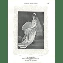 1925 Miss Enid Watson & Miss Lilian Furse