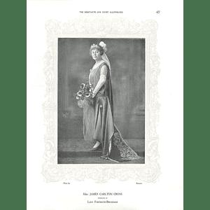 1925 Mrs James Carlton Cross & Mrs Max Mayer