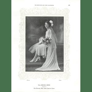 1925 Miss Brenda Cross & Miss Margaret Gladys Wilder Ormond