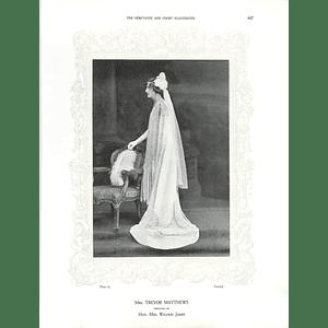 1925 Mrs Trevor Matthews & Mrs G Cra'ster