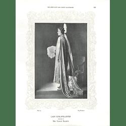 1925 Lady Cunliffe-Lister & Mrs John Kerr