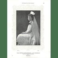1925 Madame Fridtjof Backer-Grondahl & Mrs J S Smit
