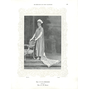 1925 Mrs CHM Bingham &  Mrs Marshall Roberts