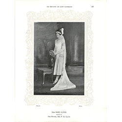 1925 Miss Mary Glynn & Mrs Vivian Bosanquet