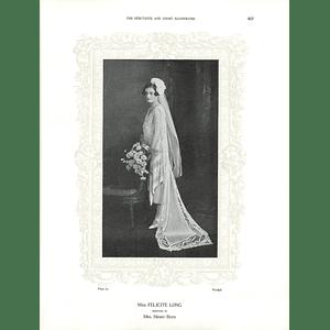 1925 Miss Felicite Long & Miss Angela Dixon
