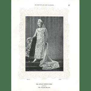 1925 Mrs William Wyndham & Miss Victoria Durham