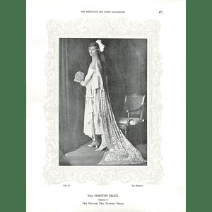 1925 Miss Dorothy Drage & Miss Sheila Carey
