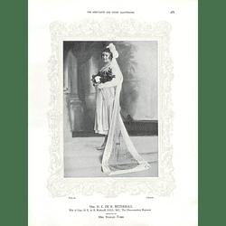 1925 Mrs H E de R Wetherall & Mrs Cedric Drewe
