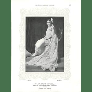 1925 Hon Mrs Francis Southwell & Mrs H P Currey