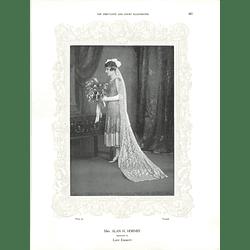 1925 Mrs Alan H Hornby & Mrs Ferdinand Baxter