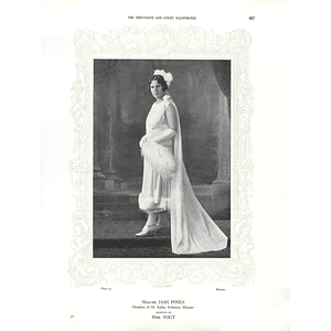 1925 Madame Jaan Poska & Miss Jocelin Wyldbore-Smith