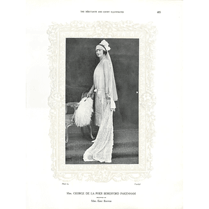 1925 Mrs George de la Poer Beresford Pakenham & Miss Pamela Leveson