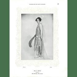 1925 Miss E Cryan & Mrs Stuart Messum