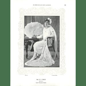 1925 Mrs E F Twist & Miss Heather MacKenzie-Gillanders
