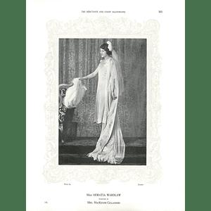 1925 Miss Horatia Wardlaw & Mrs Trevor Rose